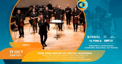 Compañía Nacional de Teatro se reactiva en Cervantino