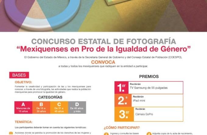 Cierra concurso Fotográfico Pro Igualdad de género