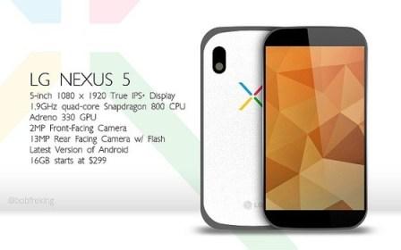 El LG Nexus 5 telefono
