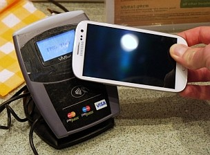 pagar con un Teléfono Inteligente