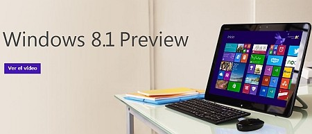 disponible Windows 8.1 Preview