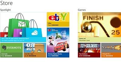 la tienda de Microsoft ya le gana a Apple