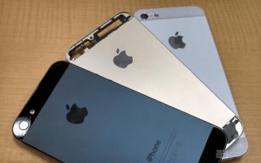 ¿Les gustaría un iPhone 5S color dorado