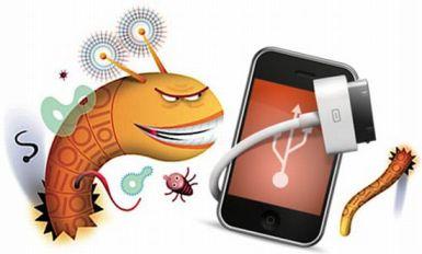 virus a un iPhone