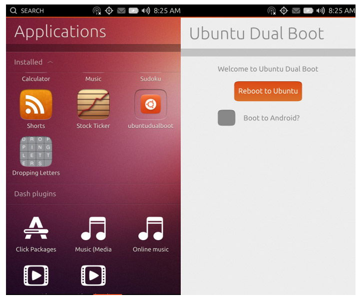ubuntu telefono android