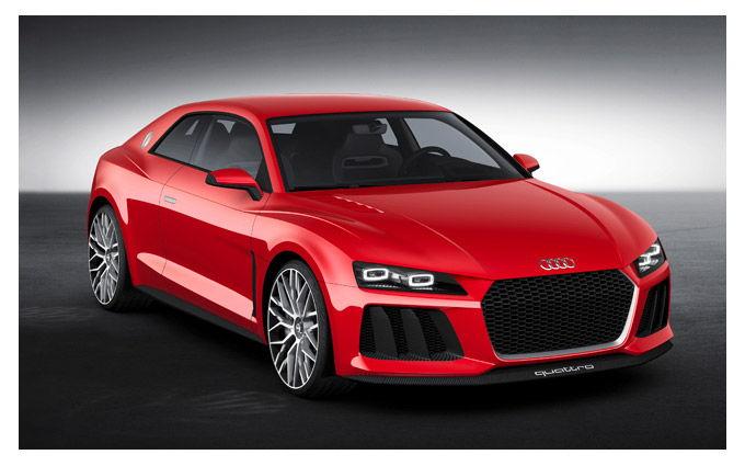 Audi lanzara Sport Quattro luces Laser