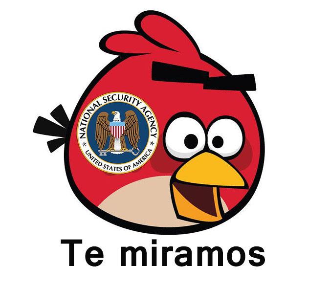 NSA Angry Birds