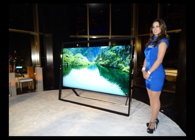 Samsung TV pantalla 110 pulgadas