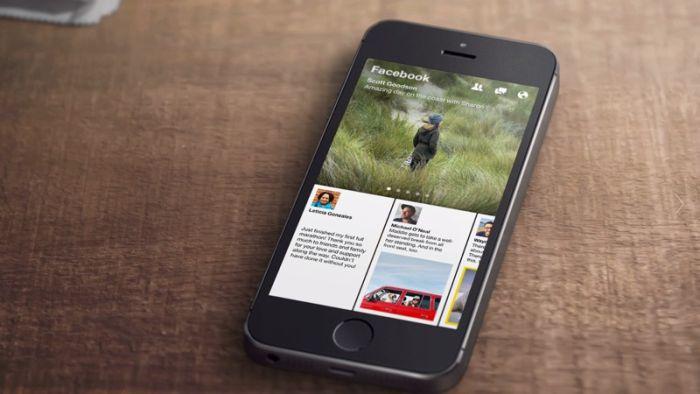 Paper, la nueva app de Facebook para iPhone