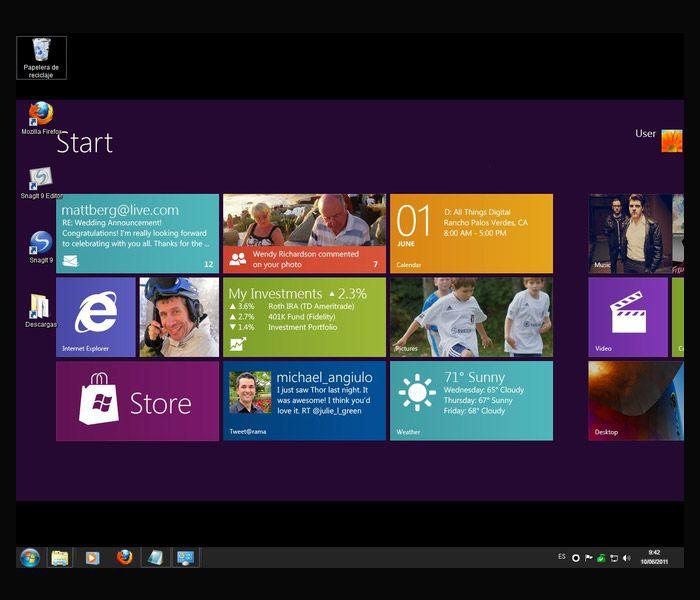 Windows 81 podria saltar la pantalla Metro