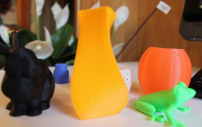 3D printed example - vase