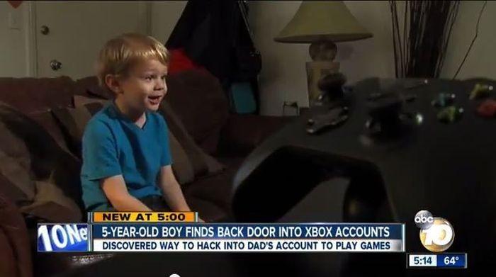 xbox hack kid