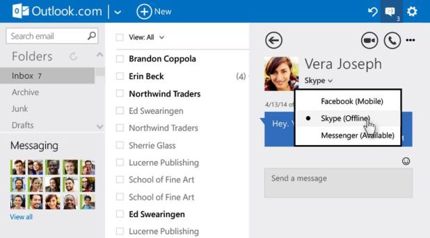 Chat outlook microsoft new changes