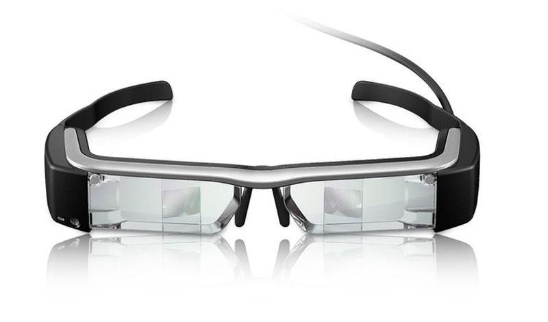 Epson Gafas a la mitad de precio que Google Glass