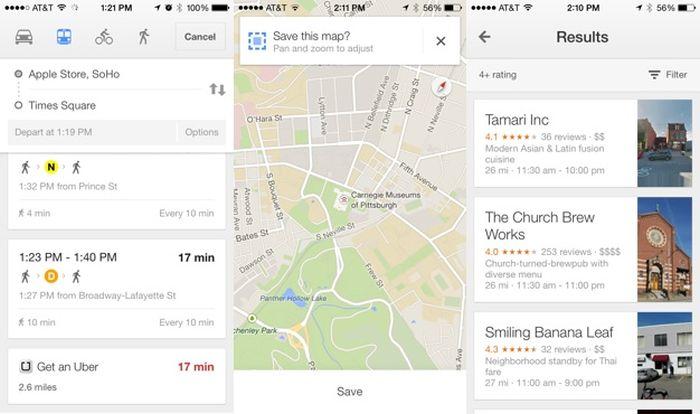 Google Maps 3 con Uber