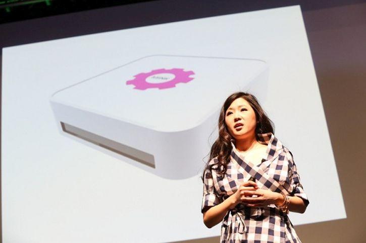Grace-Choi-imprimir tu propio maquiaje con MINK, presentado en Tech Crunch Disrupt