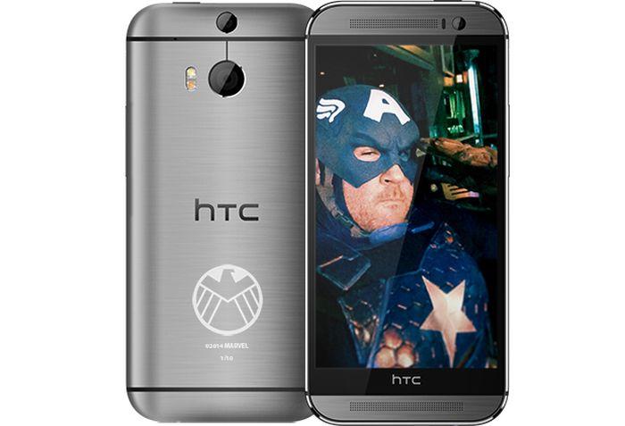 HTC One (M8) Telefono Captain America Shield