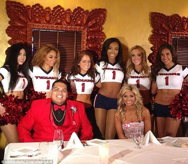 twitter baile nfl cheerleader