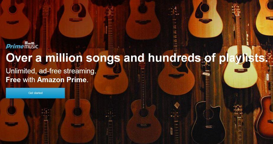 Amazon Prime Music Musica