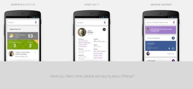 sherpa  digital personal assistant como siri