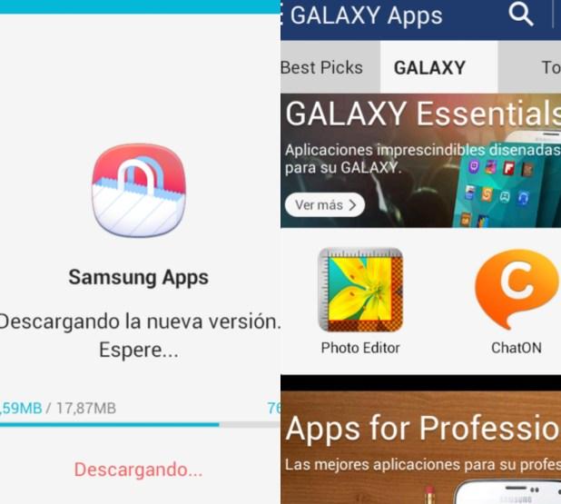 Samsung Galaxy Apps Store Tienda