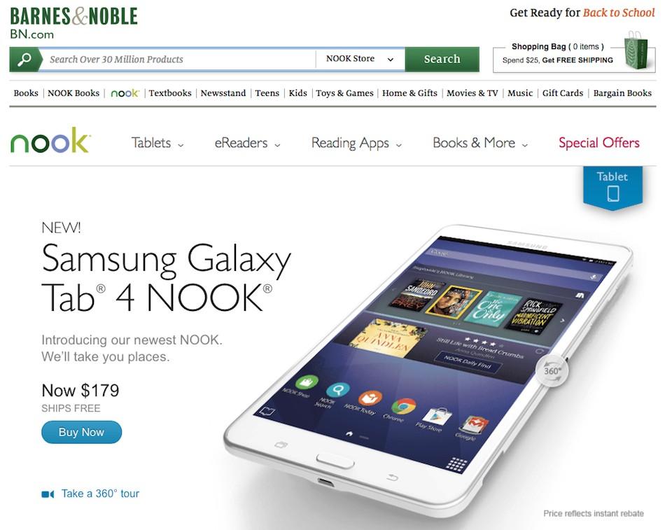 SamsungGalaxyTab4Nook