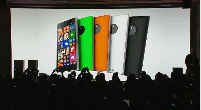Microsoft ataca en la IFA 2014 Presenta los Lumia 730, 735 y 830