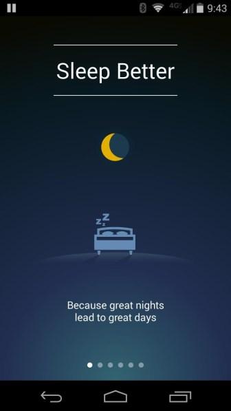 sleep better app dormir mejor