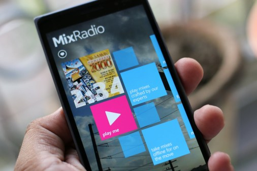 line compra mixradio microsoft lumia
