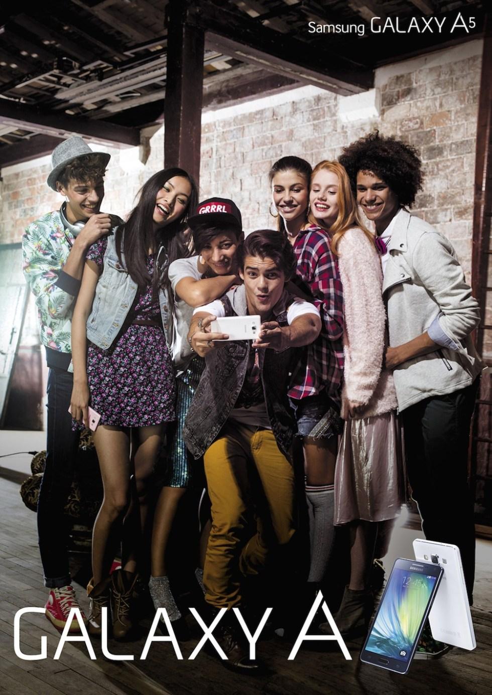 GALAXY A camara selfie grupal colombia disponibilidad