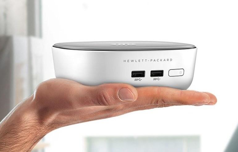 Caben en la palma de tu mano y funcionan con Windows 8.1 Foto: HP