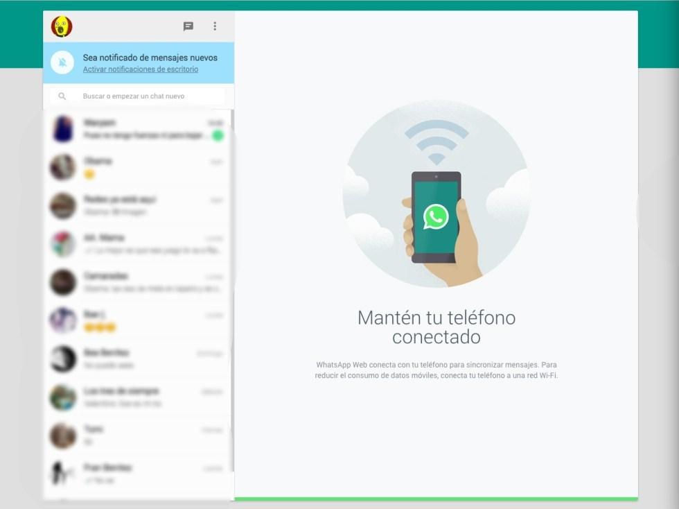 WhatsApp desde el PC