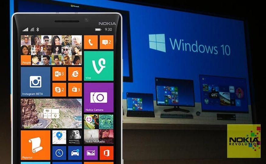 el nuevo windows 10 mobile