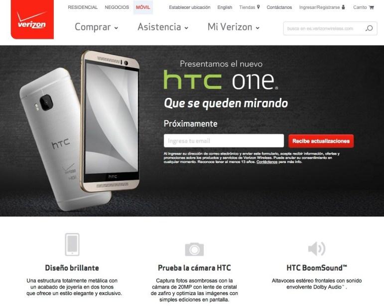 HTCOneM9Verizon