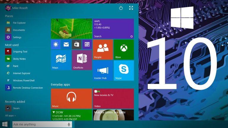 Ya está disponible la ISO de Windows 10