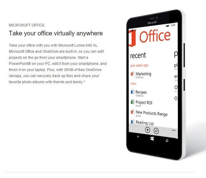 lumia office