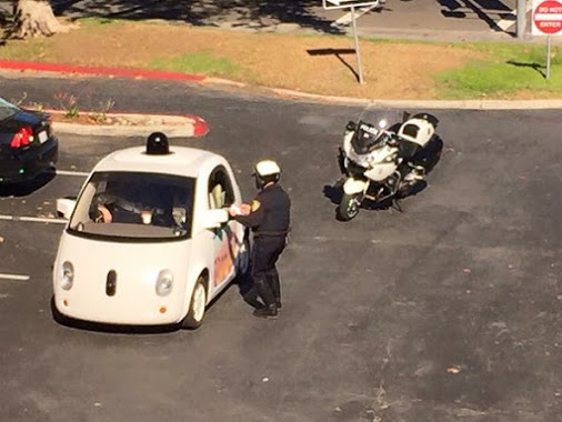google car stopped