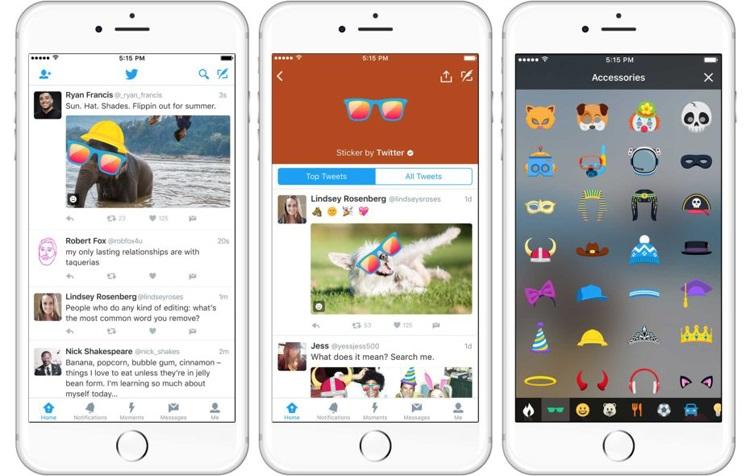 Twitter pronto lanzará Stickers-2