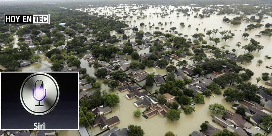 App Siri pudo salvar a niña en las inundaciones por la tormenta Harvey-1