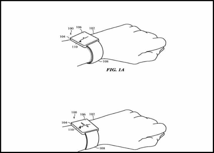 Apple patenta correas autoajustables para el Apple Watch ¿Cuando llegaran?-2