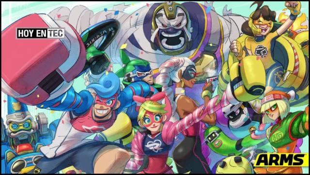 Nintendo Arms será una novela gráfica ¿Tendrá tanto éxito como el juego?-1