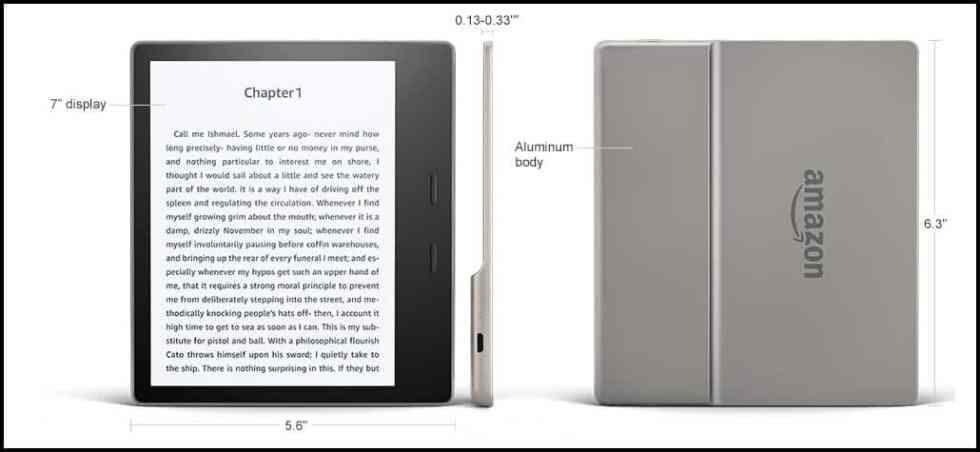 Nuevo Amazon Kindle Oasis es el e-reader mas autonomo ¡Leeras mas y mejor!-3
