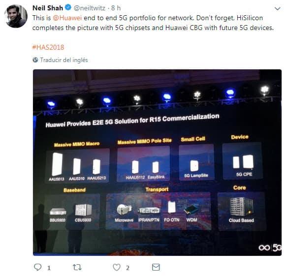 Tecnologia 5G llegara de las manos del Huawei Mate@Huawei#5G-1jpg