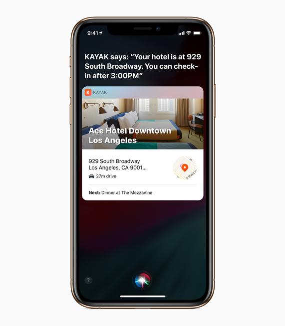 """Por ejemplo puedes grabar el comando """"planes de viaje"""" y la app de viajes de tu preferencia te mostrará información relevante"""