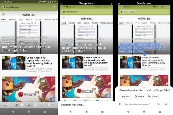 Google Fotos Como activar la nueva función de leer texto en imagenes-2