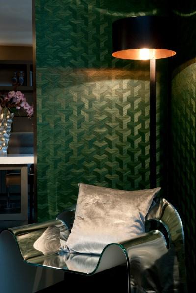 Hoyer & Kast Interiors - Tapete Heliodor 3 Arte Wandbespannung