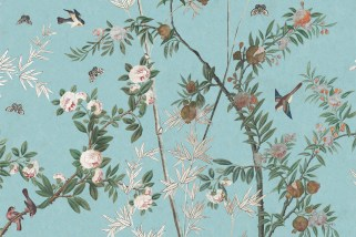 Iksel Decorative Arts Chinoiserie Wandpanorama - Hoyer & Kast Interiors