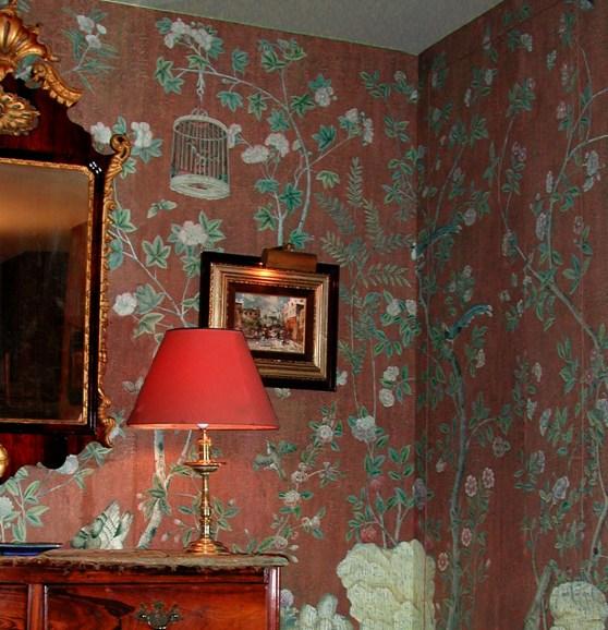 Iksel Decorative Arts Wandpanoramen Chinoiserie - Hoyer & Kast Interiors