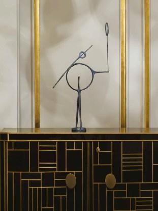 Maison Charles FELIX AGOSTINI Skulptur Interior
