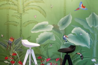 Misha Wallpaper Exotic Garden - Hoyer & Kast Interiors